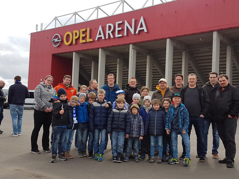 Mannschaftsfahrt zum Bundesligaspiel 1. FSV Mainz 05 gegen Schalke 04