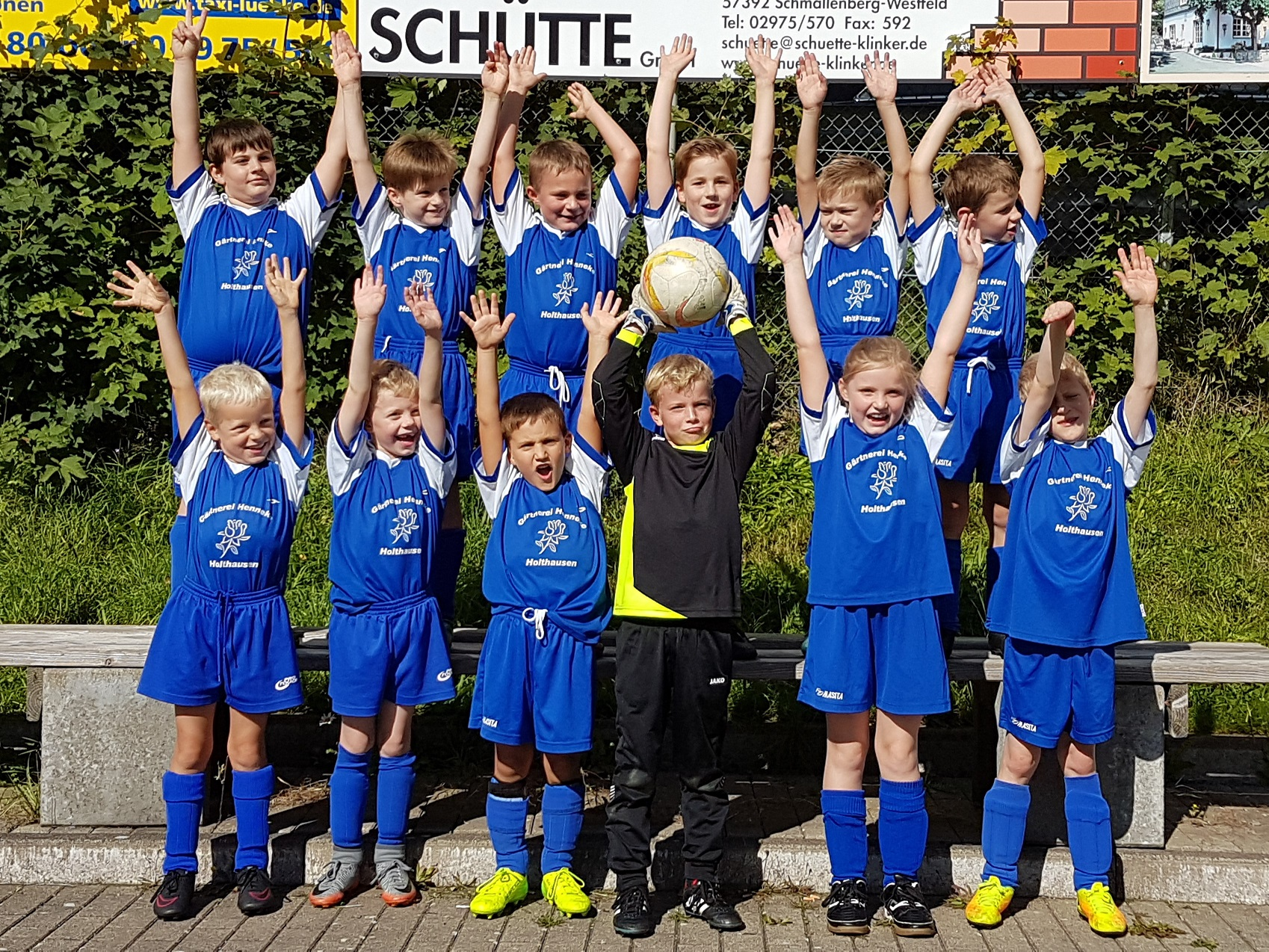F-Junioren starten in die Saison