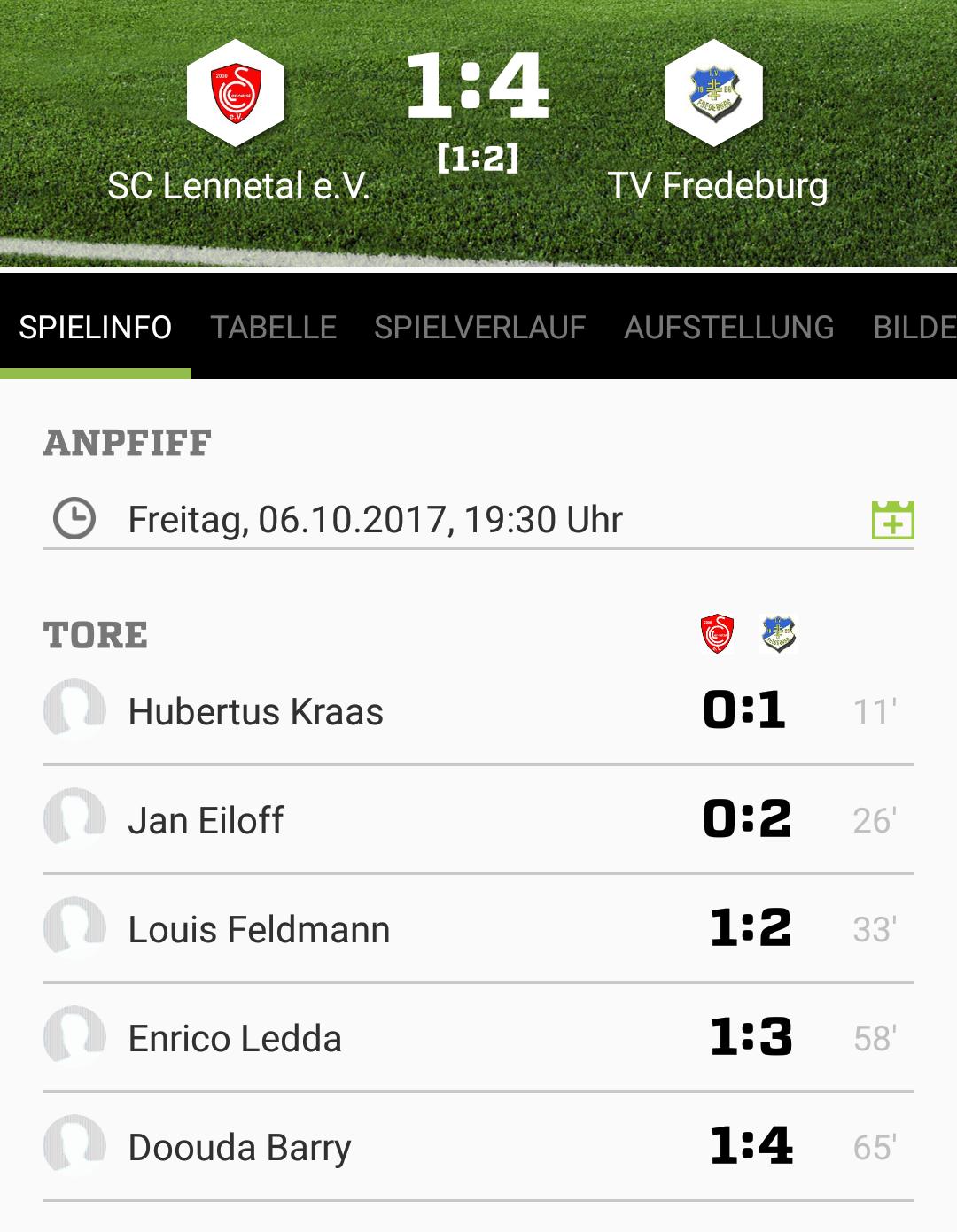 TV I siegt beim Aufsteiger SC Lennetal