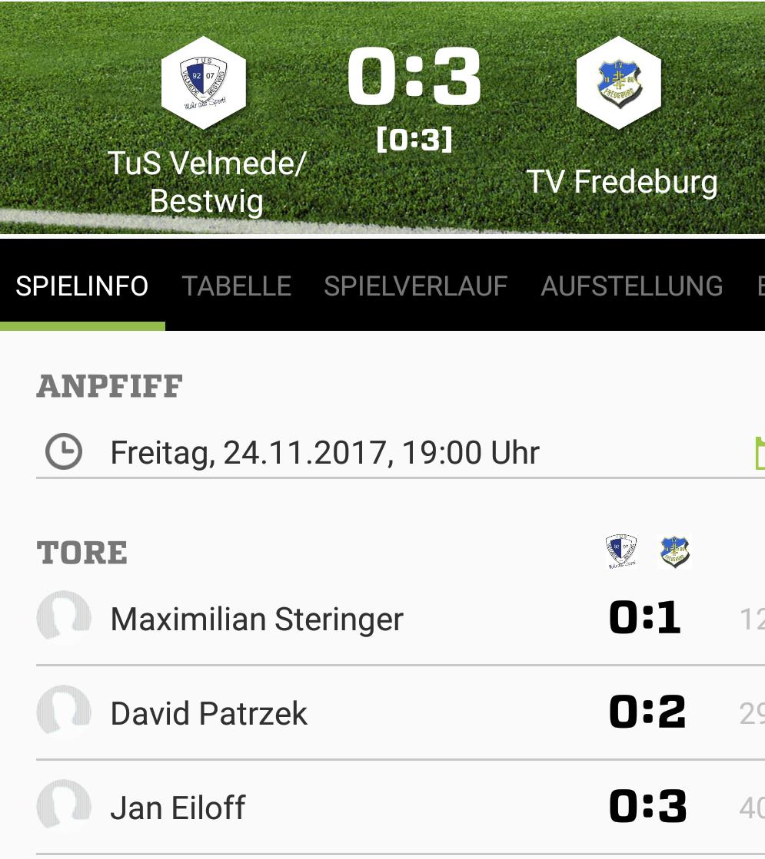 TV I wieder mit 3:0-Sieg in Bestwig