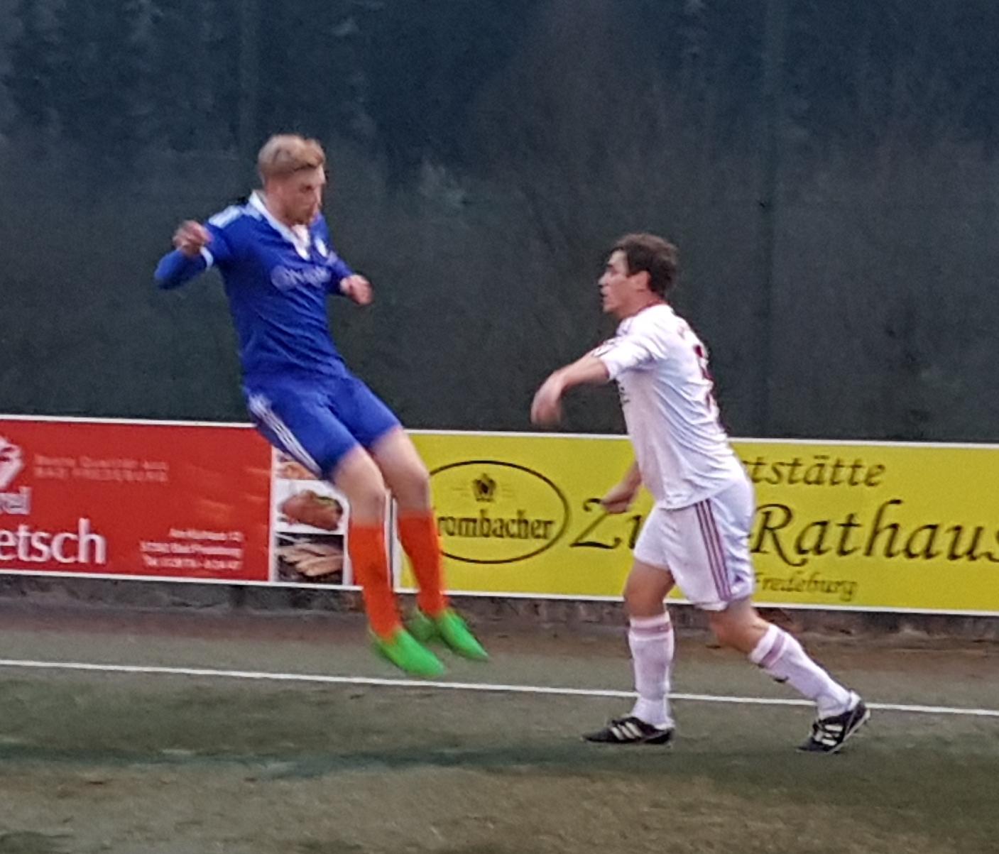 TV I-Kapitän trifft zum 4:1 gegen SC Lennetal